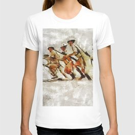 Charge, World War Two T-shirt