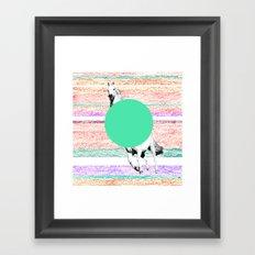 Horse, horse. Framed Art Print