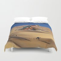 oasis Duvet Covers featuring Oasis by Lerson