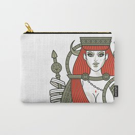 SINS Mentis - Lust Queen of Hearts Carry-All Pouch