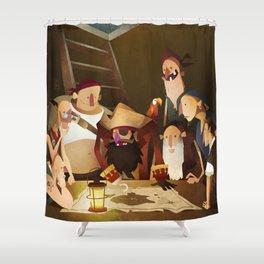 Secret Treasure Shower Curtain