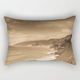 Looking Back Rectangular Pillow