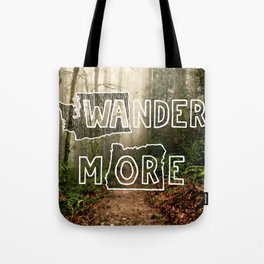 Wander More - Forest Tote Bag