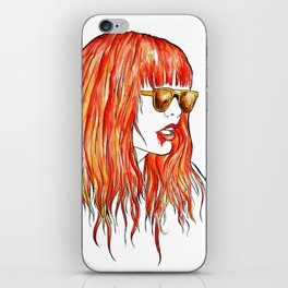sweet fire iPhone Skin