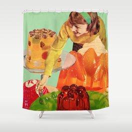 Gelatin Shower Curtain