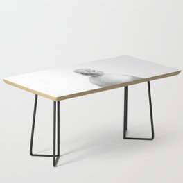 Black and White Duckling Coffee Table
