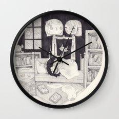 neil gaiman Wall Clock