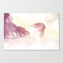 The Geisha Canvas Print