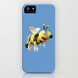 3D bee iPhone Case