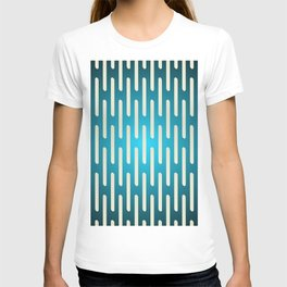 seamless pattern with gradient background T-shirt