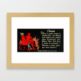Chums Framed Art Print