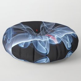 9124s Spirit Work by Chris Maher Visions of Smoke and Mirrors Floor Pillow