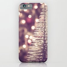 Seasons Greetings 1 -- Muted Soft Lights and Sparkle iPhone 6s Slim Case