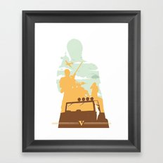TREV Framed Art Print