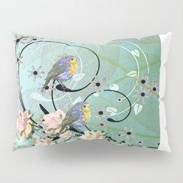 The Chickadee's Serenade Pillow Sham