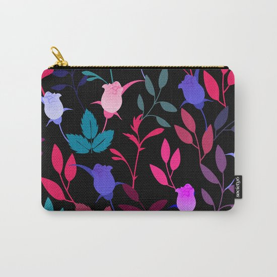 Flower Pattern XVI Carry-All Pouch