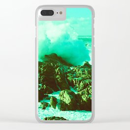 Point Lobos II // California Clear iPhone Case