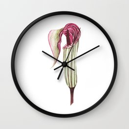 Jack-in-the-pulpit Wall Clock