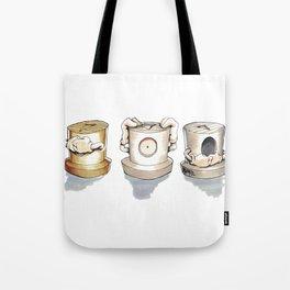 See no, Hear no, Speak no Evil ! Tote Bag