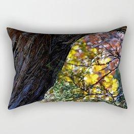 Above Doc Hollidays Grave Rectangular Pillow