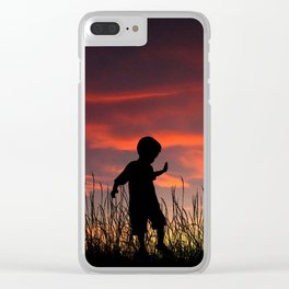 The Beginning of a Journey Clear iPhone Case
