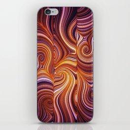 Electric Field Art LIV iPhone Skin