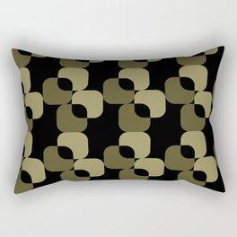 Gaṛha abong halka badami Rectangular Pillow
