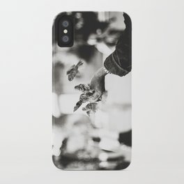 The man of birds iPhone Case
