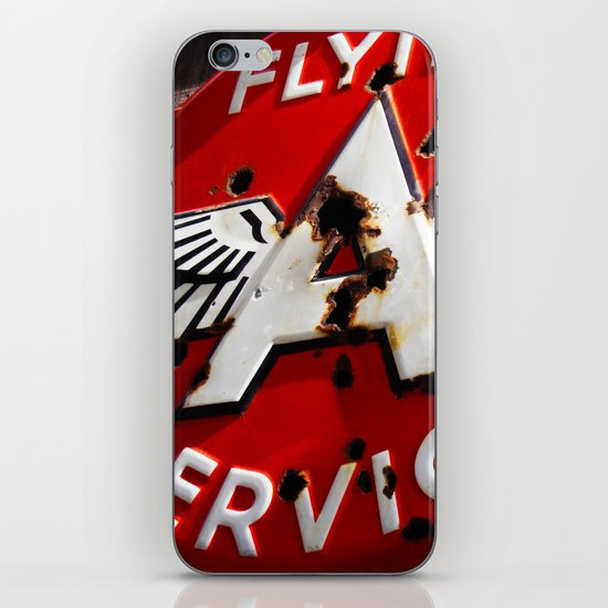 Flying A Service iPhone Skin