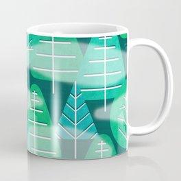 Misty Emerald Forest Coffee Mug
