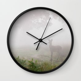 Richmond Park - 98, October 2015 Wall Clock