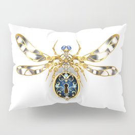 Mechanical Insect ( Steampunk ) Pillow Sham