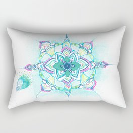 The Cycle of Emotional Healing Rectangular Pillow