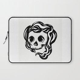 Tribal illustrated skull Laptop Sleeve