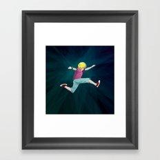 Keen Framed Art Print