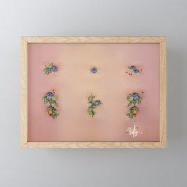 "Passiflora Caerulea ""Blue Passion Flower"" Framed Mini Art Print"
