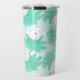 Fern-tastic Girls in Teal Travel Mug