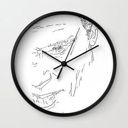 NOORD portrait #6 / Wall Clock