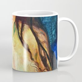 Female Nude, The Beast - Digital Remastered Edition Coffee Mug