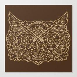 Ornate Owl Canvas Print