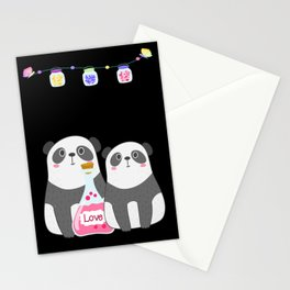Panda Lovers Backpack Stationery Cards