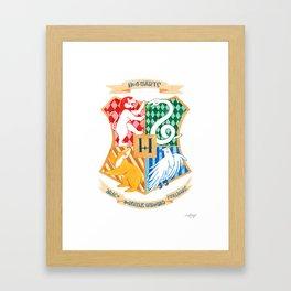 Hoggy Warty Hogwarts... Framed Art Print