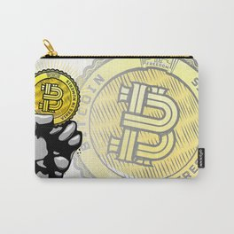 BITCOIN — VIRES IN NUMERIS Carry-All Pouch