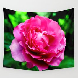 Queen Elizabeth Rose Wall Tapestry
