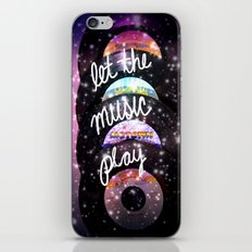 Let the Music Play iPhone Skin