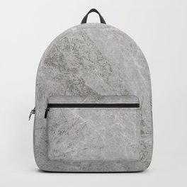 Rustic White Pattern (Black and White) Backpack