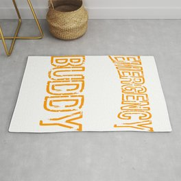 """""""Emergency Drinking Buddy"""" for you and everybody. Makes a nice gift for your family and friends!  Rug"""