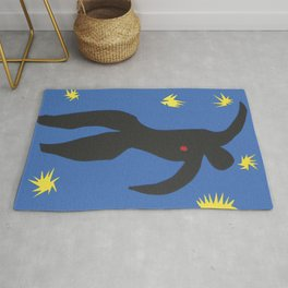 Henri Matisse, Icarus (Icare) from Jazz Collection, 1947, Artwork, Men, Women, Youth Rug