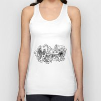 movies Tank Tops featuring Movies and Pizza by Sabrina B