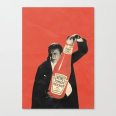 Vegetarian Vampire Canvas Print